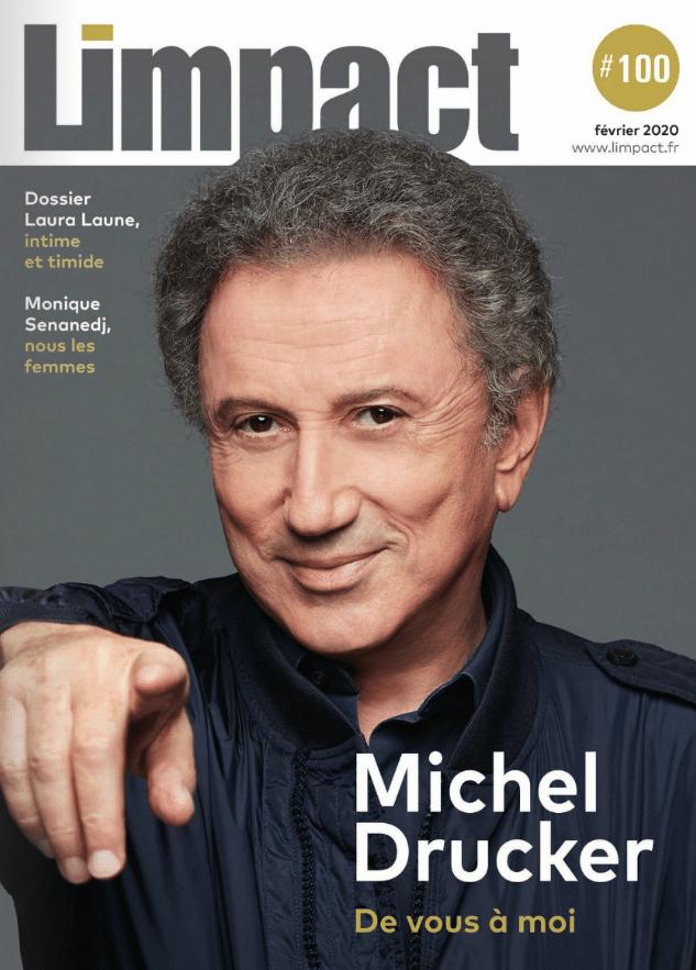 MICHEL DRUCKER ET ERIC TRAMSON POUR LE 100 NUMERO DE L IMPACT