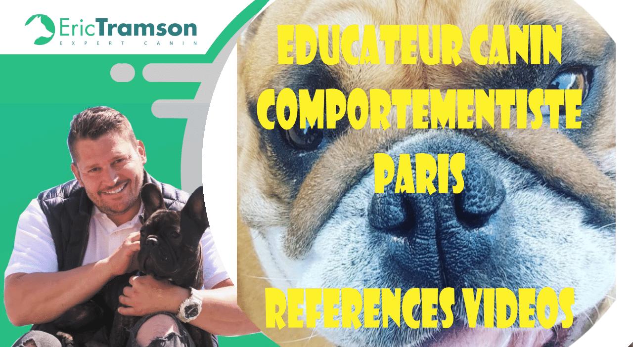 educateur canin comportementaliste parisien